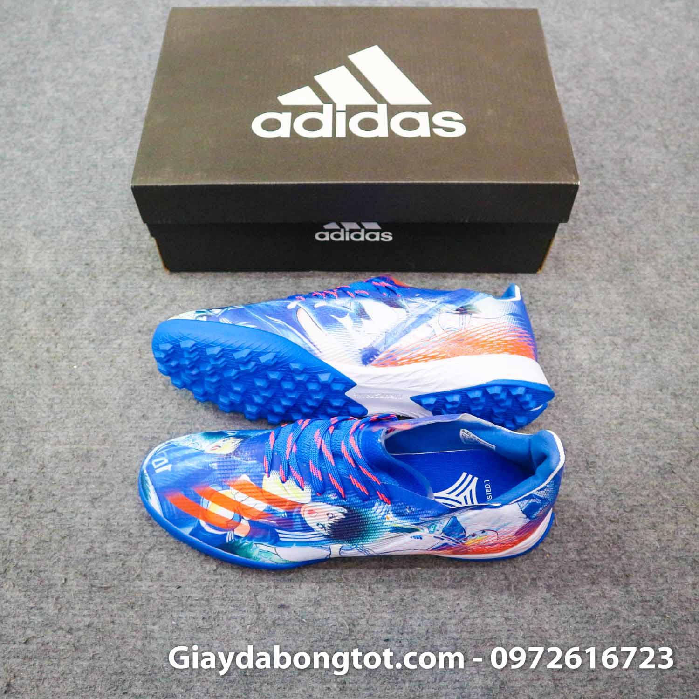 Giay Adidas X Ghosted. 1 tf tsubasa xanh duong trang (1)