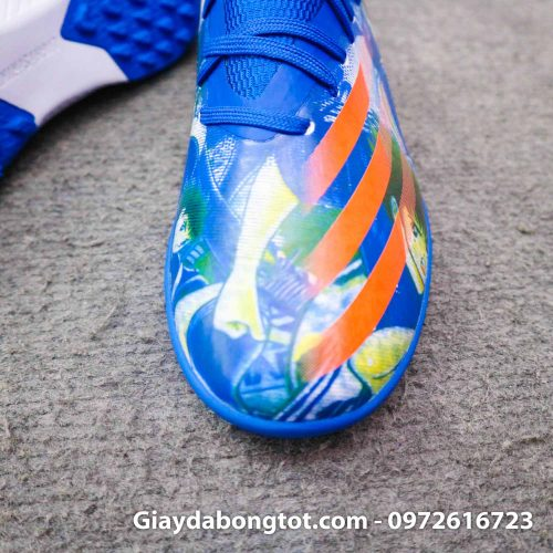 Giay da banh adidas x ghosted .3 tf xanh duong vach cam tsubasa (6)