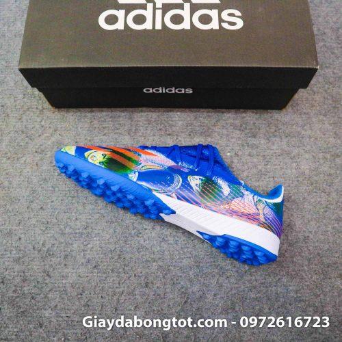Giay da banh adidas x ghosted .3 tf xanh duong vach cam tsubasa (7)