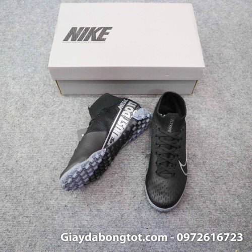 Giay da banh cao co nike mercurial superfly 7 elite tf den tre em (3)