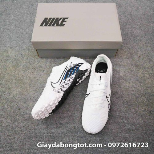 Giay da banh da vai nike mercurial vapor 13 pro tf trang den cr7 dream speed mds 3 (5)