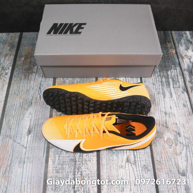 Nike mercurial vapor 13 academy tf vang trang vach den superfake (1)