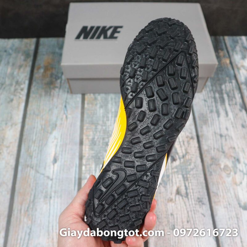 Nike mercurial vapor 13 academy tf vang trang vach den superfake (10)