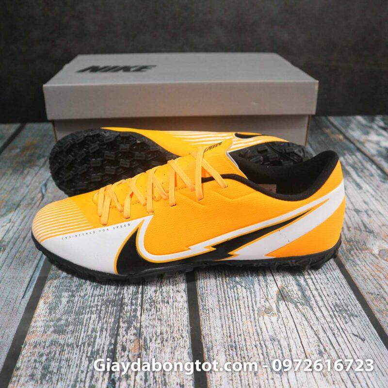 Nike mercurial vapor 13 academy tf vang trang vach den superfake (2)