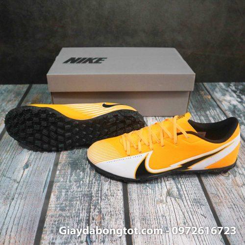 Nike Mercurial Vapor 13 Academy TF vàng đen | Bản SF chuẩn
