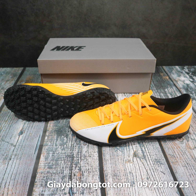 Nike mercurial vapor 13 academy tf vang trang vach den superfake (3)