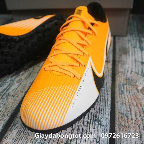 Nike mercurial vapor 13 academy tf vang trang vach den superfake (7)