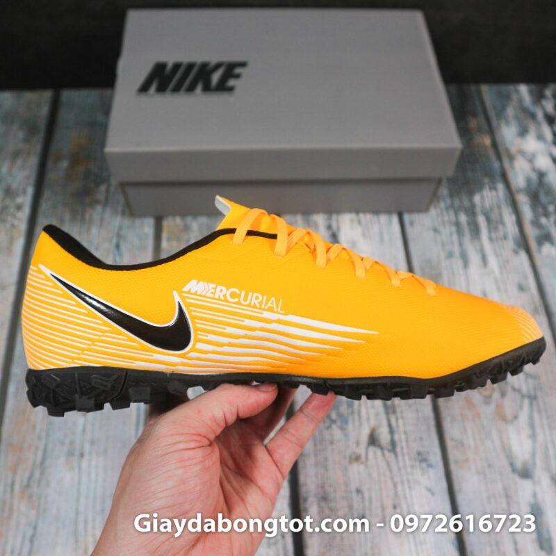 Nike mercurial vapor 13 academy tf vang trang vach den superfake (9)