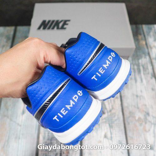 Nike tiempo legend x 8 pro tf trang xanh duong vach den superfake (10)