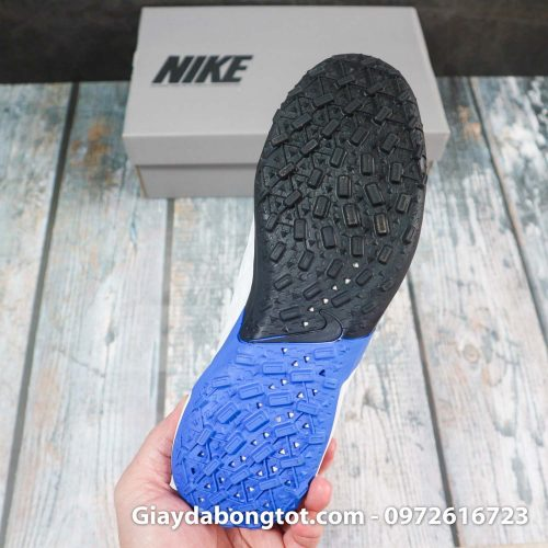 Nike tiempo legend x 8 pro tf trang xanh duong vach den superfake (8)
