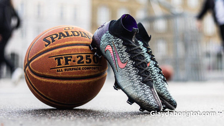 Mẫu giày bóng đá mới của Mbappé được thiết kế kết hợp với ngôi sao bóng rổ LeBron James