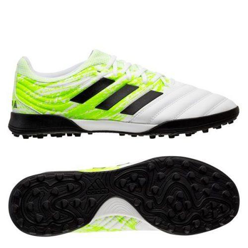 Adidas Copa 20.3 TF Uniforia - Footwear White Core Black Signal Green