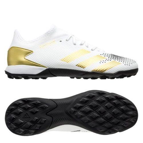 Adidas Predator 20.3 Low TF Inflight - Footwear White Gold Metallic Core Black