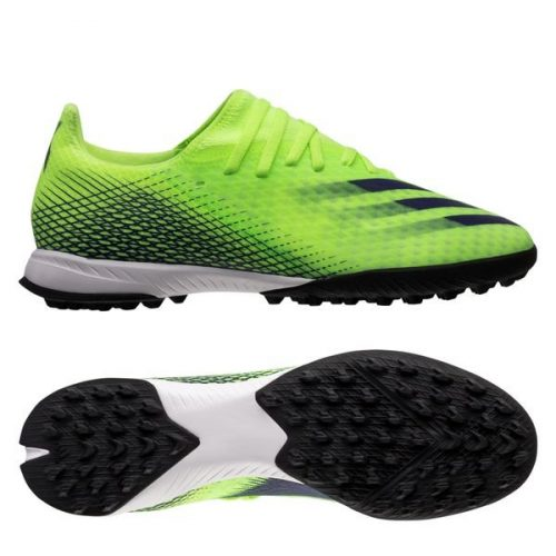 Adidas X Ghosted .3 TF Precision To Blur - Signal Green Energy Ink
