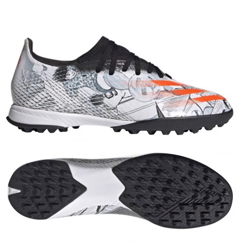 Adidas-X-Ghosted .3-TF-Tsubasa-Footwear-White-Orange-Core-Black