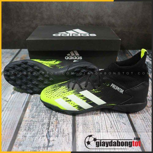 Adidas predator 20.3 tf xanh chuoi den vach trang (2)
