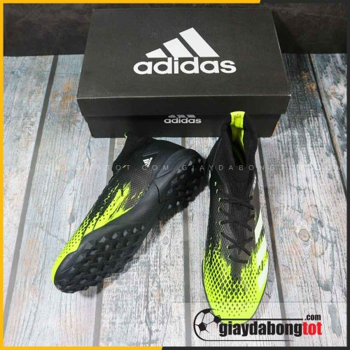 Adidas predator 20.3 tf xanh chuoi den vach trang (4)