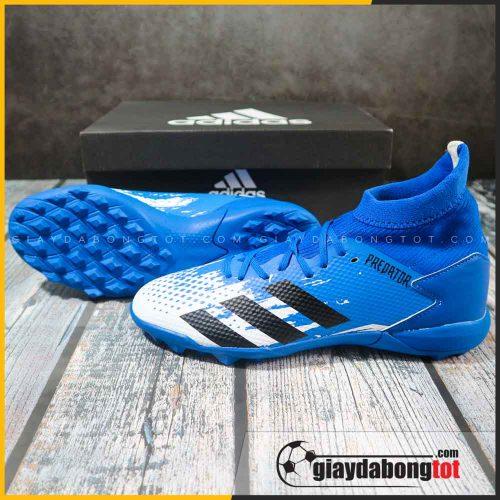 Adidas predator 20.3 tf xanh duong trang vach den (2)