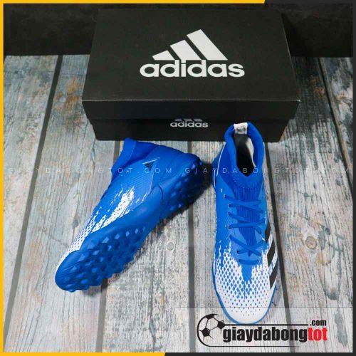 Adidas predator 20.3 tf xanh duong trang vach den (4)