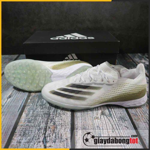 Adidas X Ghosted .1 TF trắng đục vạch đen | Mẫu mới 2020