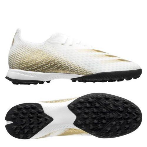 Adidas x ghosted .3 tf trang vach vang chinh hang re nhat