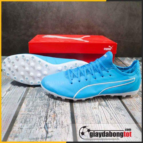 Giày sân cỏ nhân tạo Puma King MG xanh dương nhạt