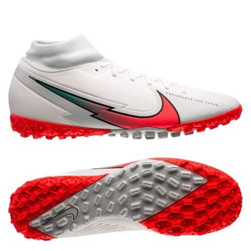 Nike Mercurial Superfly 7 Academy TF Flash Crimson - White Flash Crimson