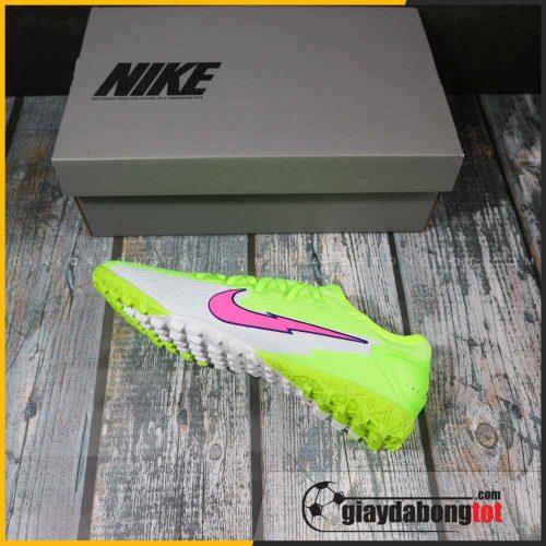 Nike mercurial vapor 13 pro tf xanh chuoi vach hong (1)