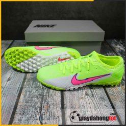 Nike mercurial vapor 13 pro tf xanh chuoi vach hong (2)