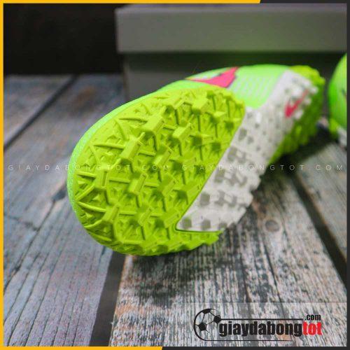 Nike mercurial vapor 13 pro tf xanh chuoi vach hong (6)