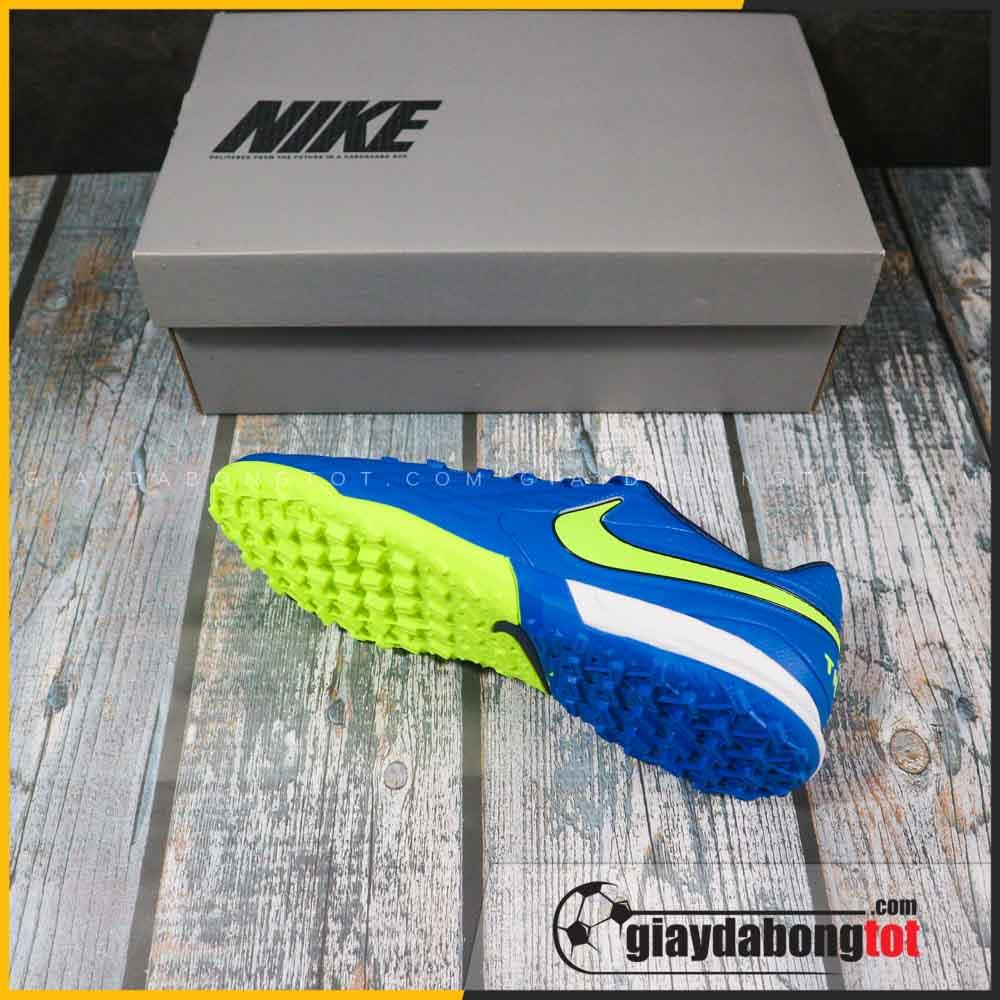 Nike tiempo 8 pro tf xanh duong vach vang (1)