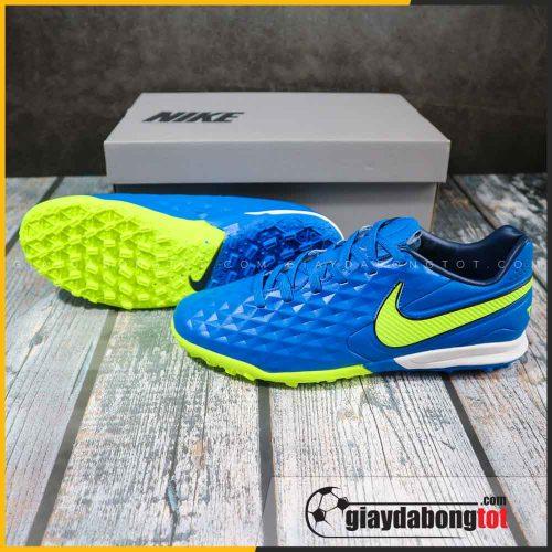 Nike tiempo 8 pro tf xanh duong vach vang (2)