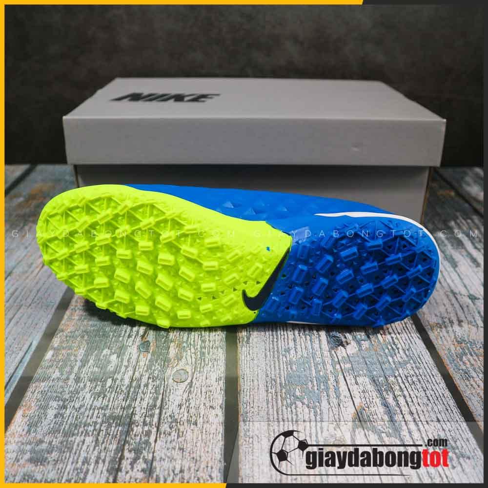 Nike tiempo 8 pro tf xanh duong vach vang (3)