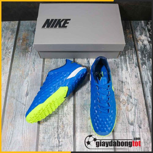 Nike tiempo 8 pro tf xanh duong vach vang (4)