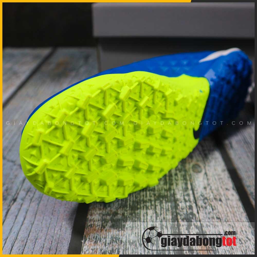 Nike tiempo 8 pro tf xanh duong vach vang (5)