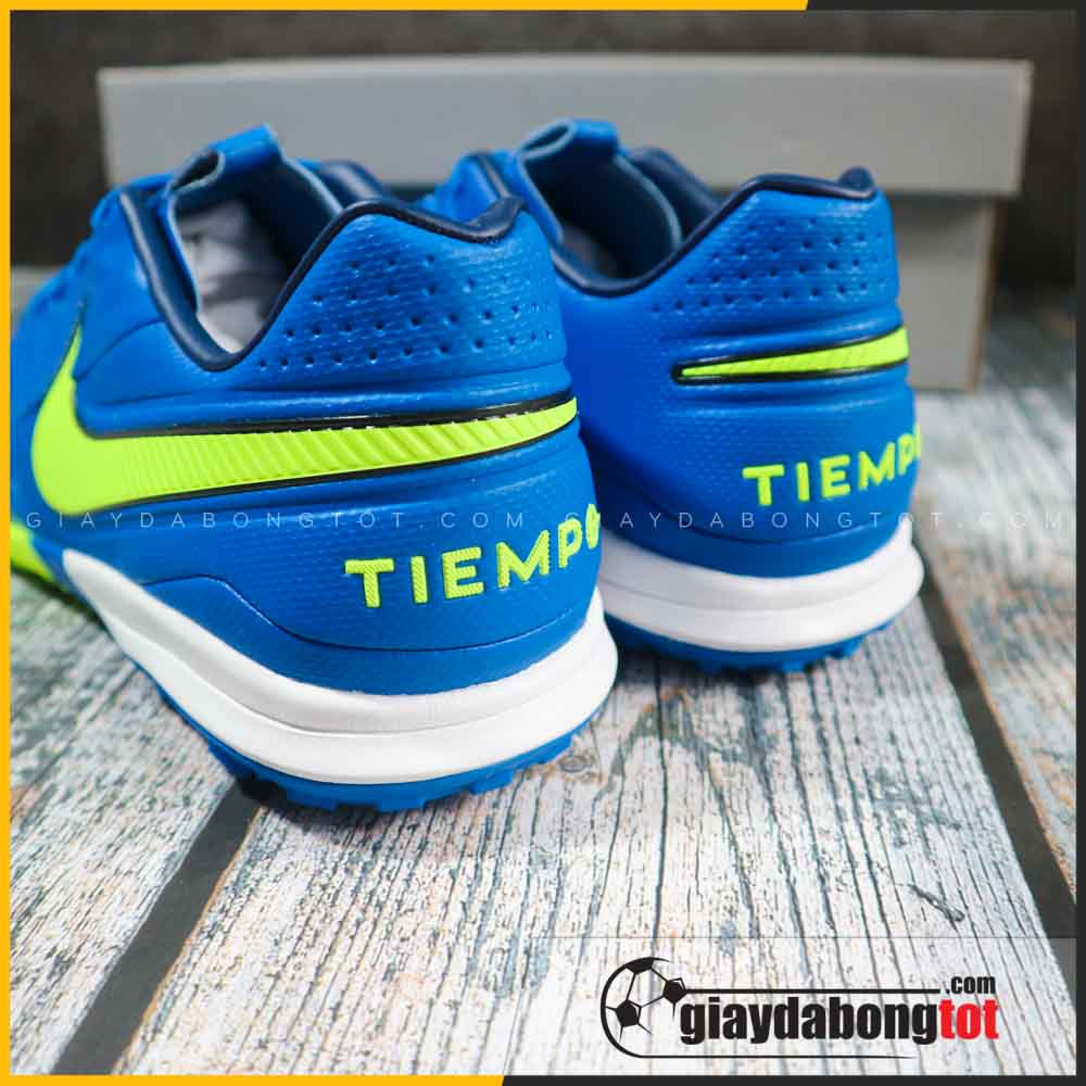 Nike tiempo 8 pro tf xanh duong vach vang (7)