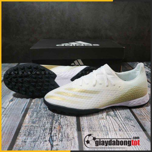 Adidas X Ghosted .3 TF trắng vạch vàng | Mẫu mới 2020