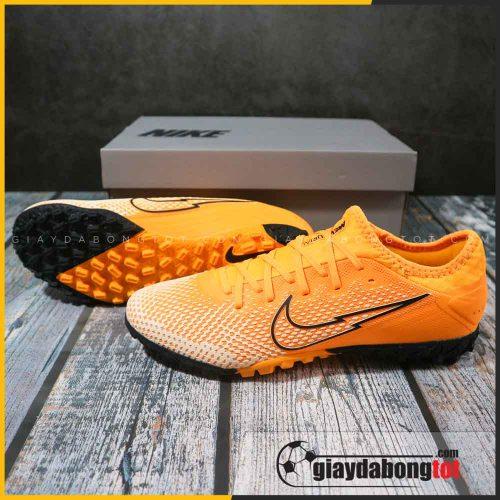 Giày Nike Mercurial Vapor 13 Pro TF Vàng cam vạch đen