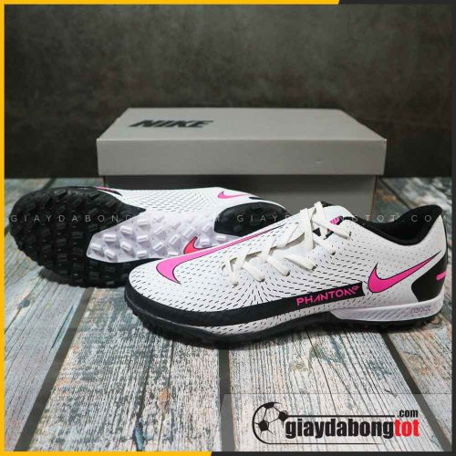 nike phantom gt academy tf trang den san co nhan tao ban fake superfake (2)