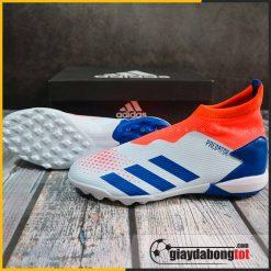 Giay da banh adidas predator 20.3 tf xanh nhat co cam khong day (2)