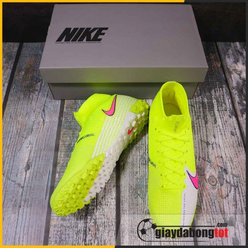 Giay da bong co cao nike mercurial superfly 7 elite tf chuoi vach hong 2021 (4)