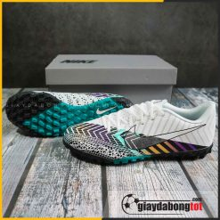 Giay da bong cr7 nike mercurial vapor 13 academy tf dream speed 3 trang den (2)