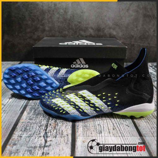 Adidas predator freak + tf xanh duong den vach trang (2)