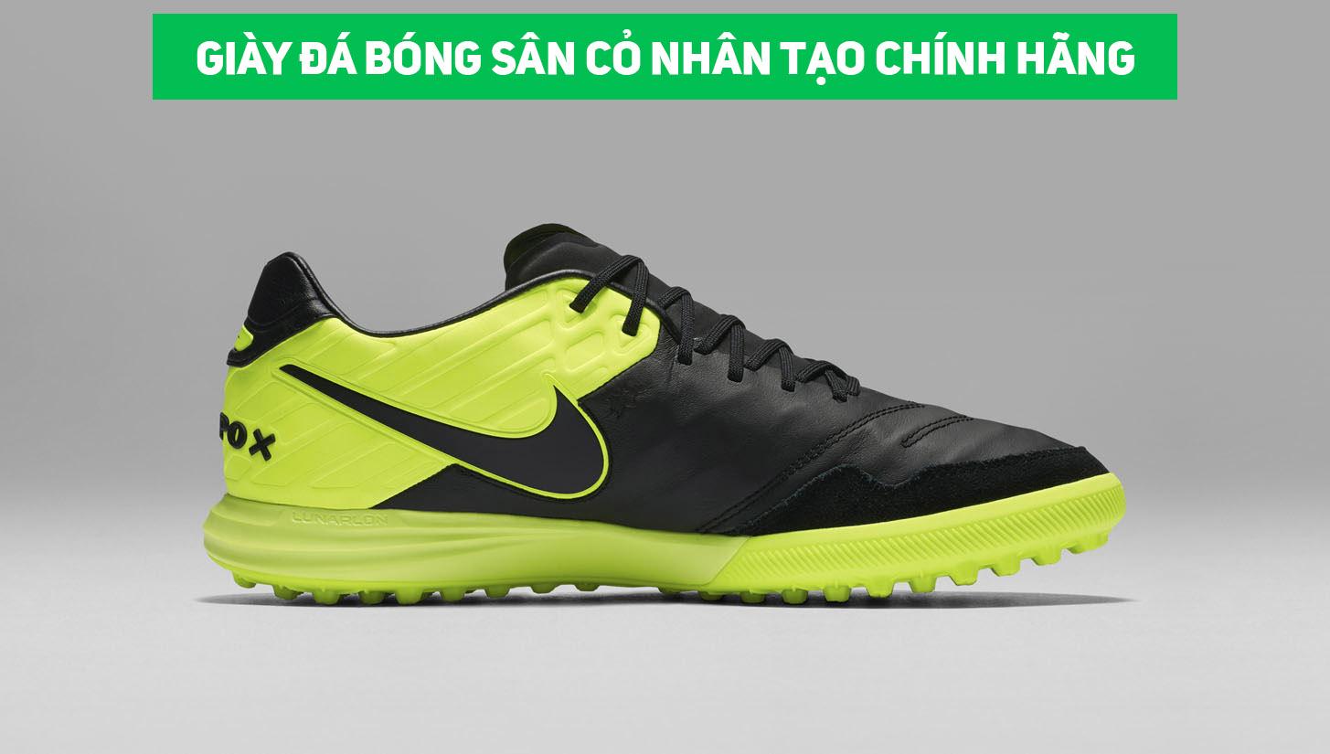Giay da bong san co nhan tao chinh hang review